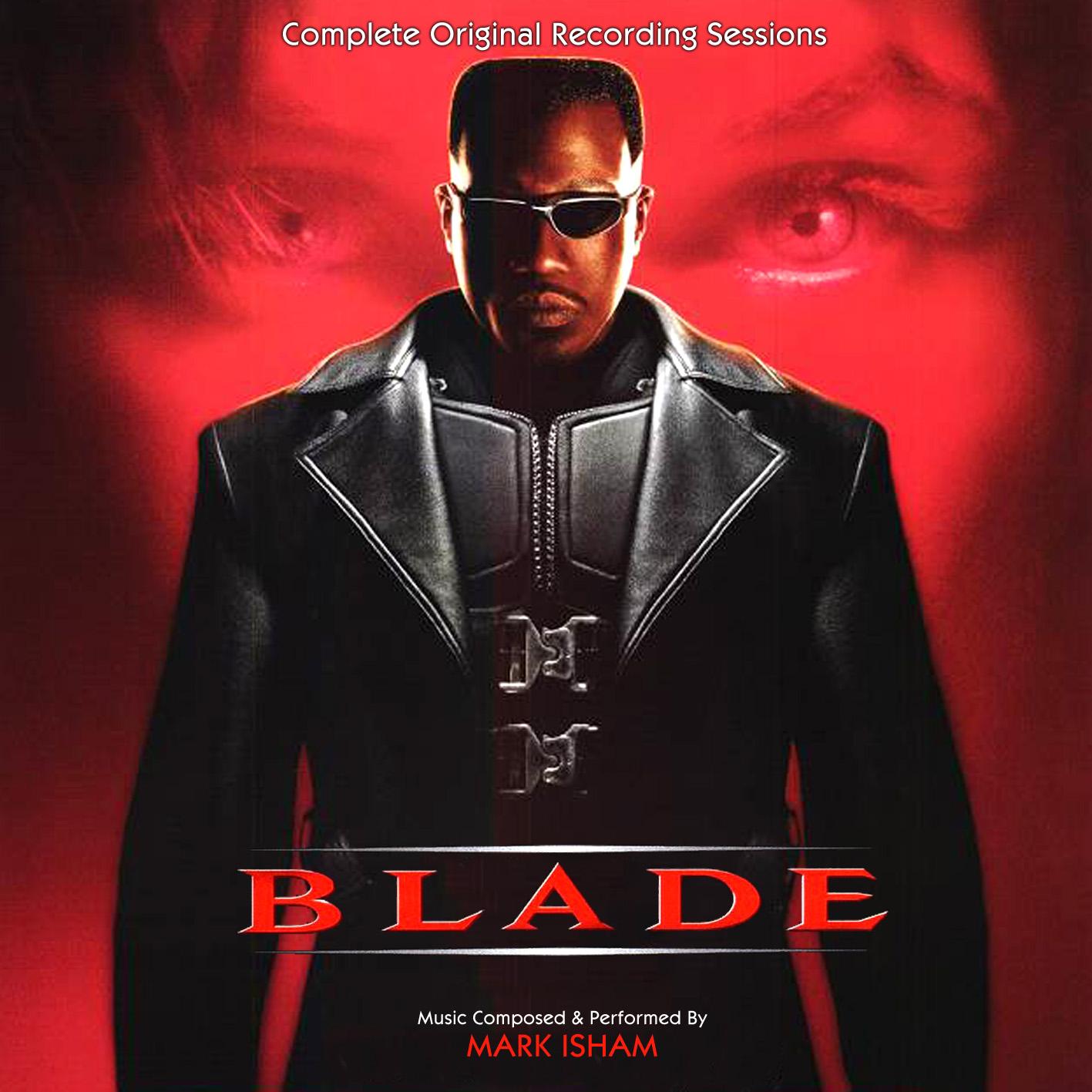 Blade Recording Sessions (Mark Isham) Back - Front