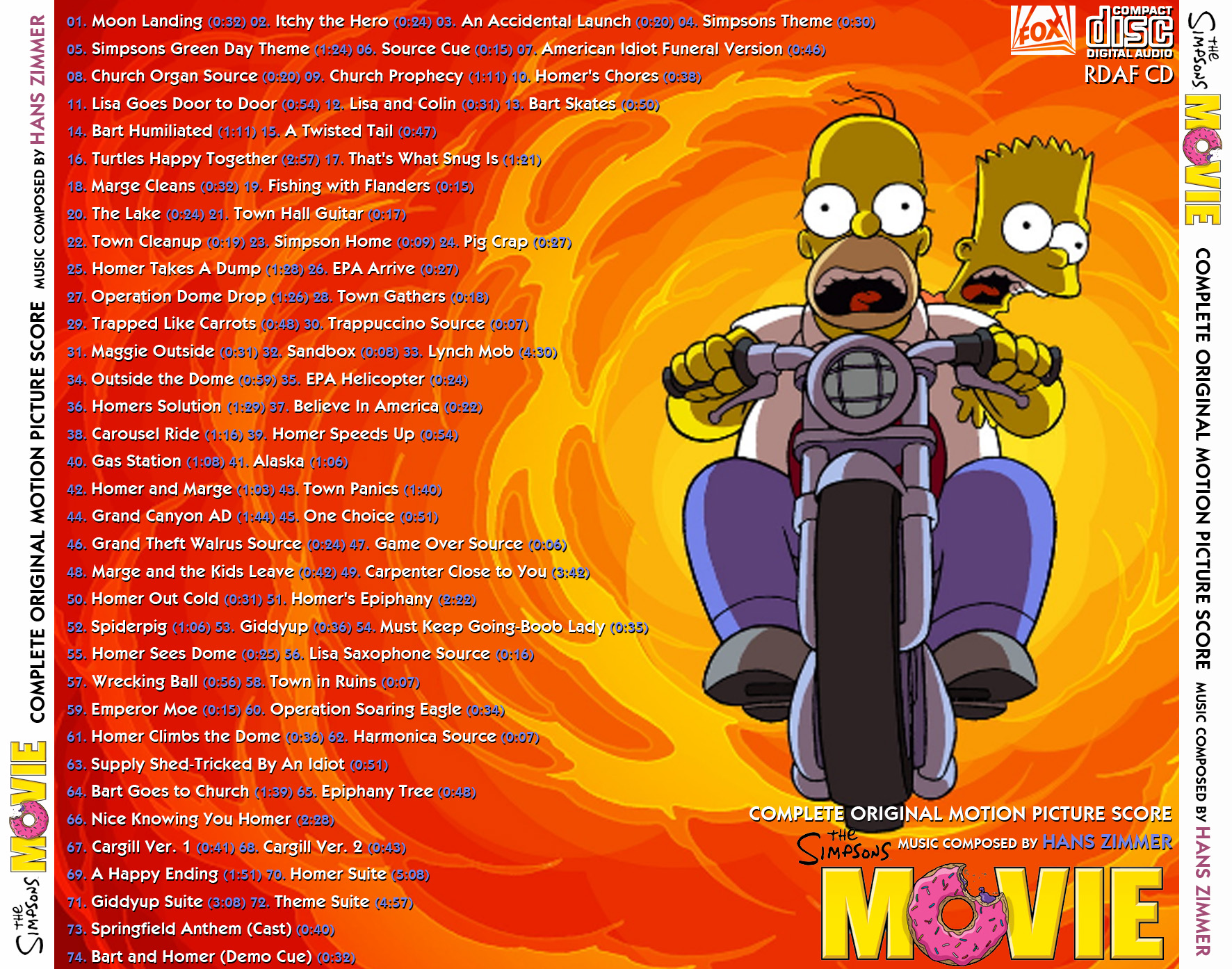 Soundtrack The Simpsons Movie 320kpbs Identi